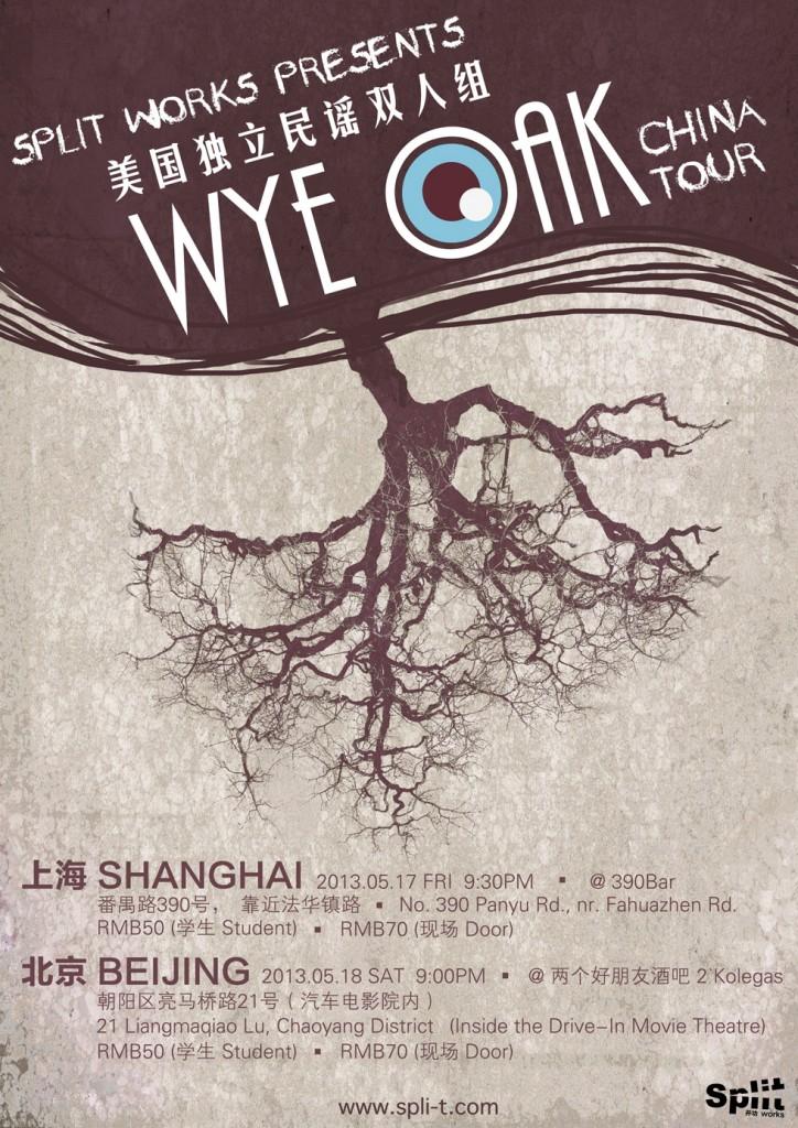 wye oak_Poster
