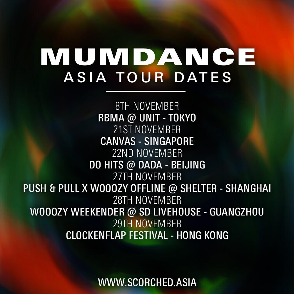 mumdance poster