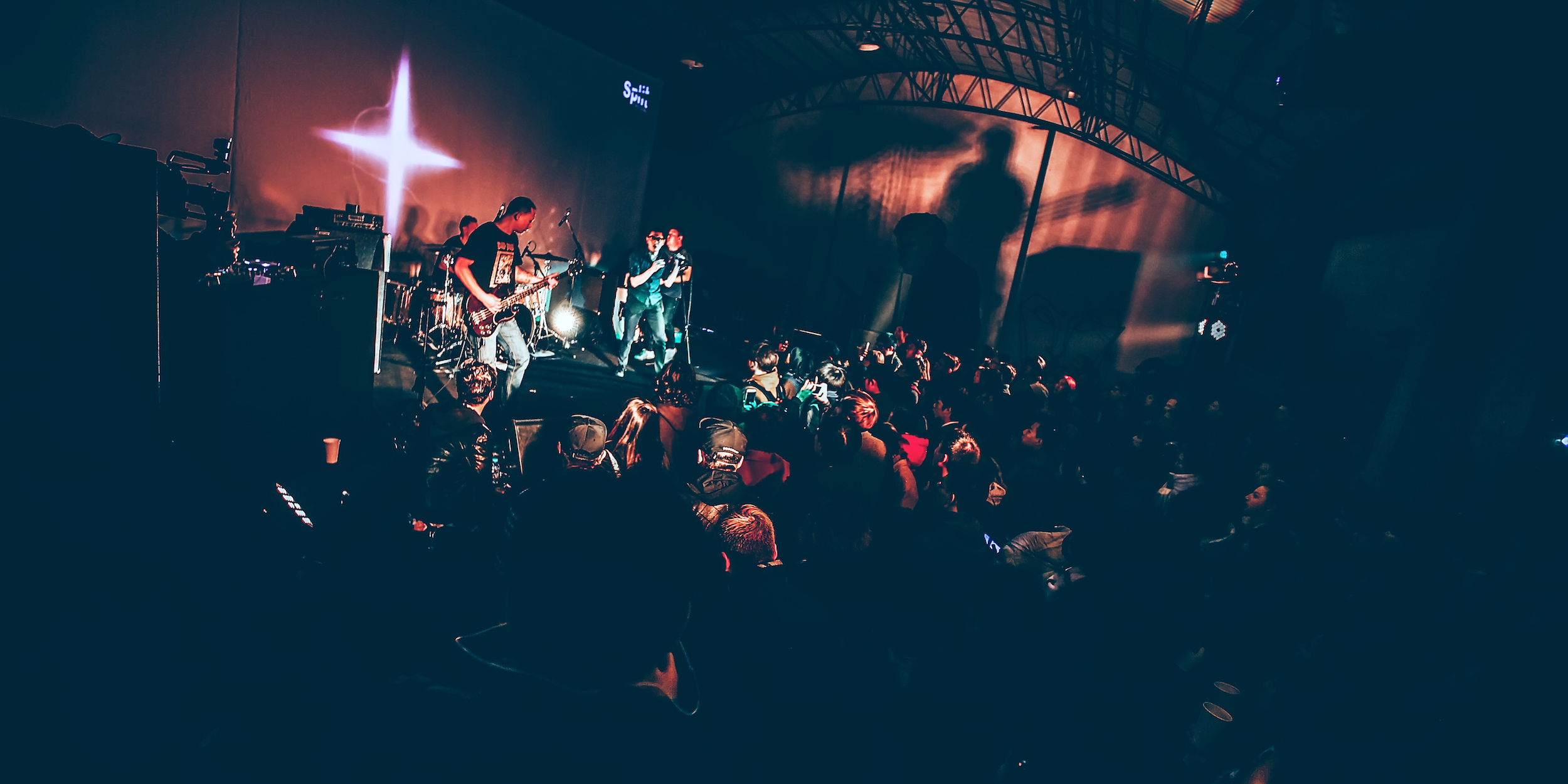 In Pictures: The #Split10 Warehouse Party